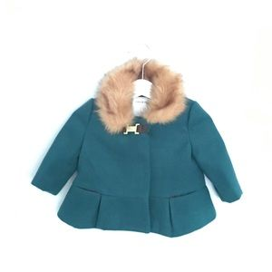 NEW Janie and Jack Girls Coat- 3-6 Months